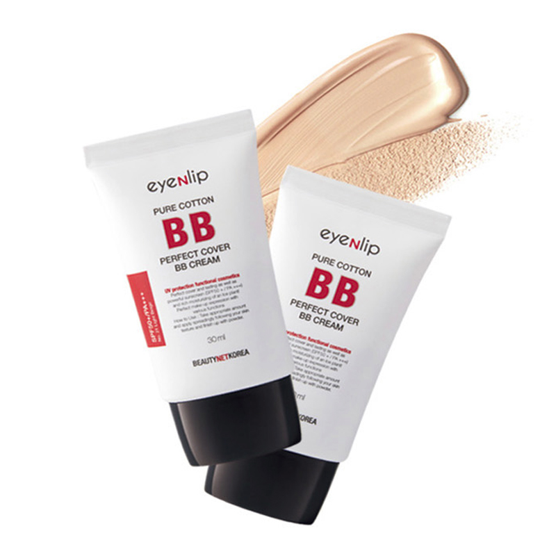 퓨어코튼 퍼펙트 커버 비비 크림 (SPF50+/PA+++) 30ml 3칼라Pure Cotton Perfect Cover BB Cream (SPF50+/PA+++) 30ml 2 Color