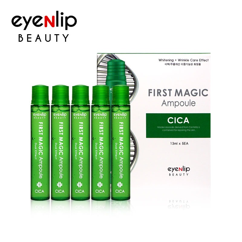 퍼스트 매직 시카 앰플 13ml * 5pcs (1BOX) First Magic Ampoule #Cica 13ml * 5pcs (1BOX)