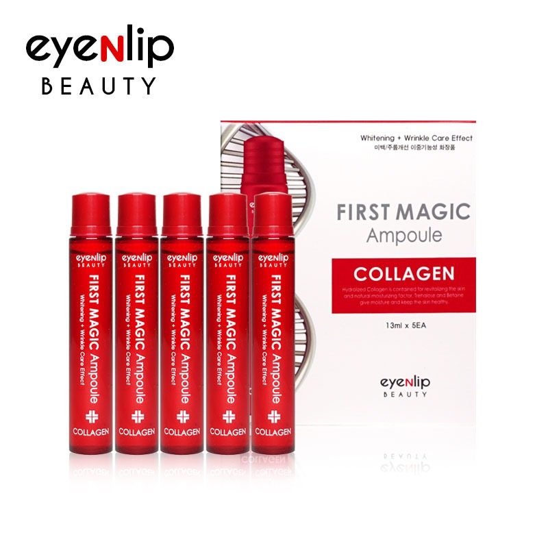 퍼스트 매직 콜라겐 앰플 13ml * 5pcs (1BOX) First Magic Ampoule #Collagen 13ml * 5pcs (1BOX)