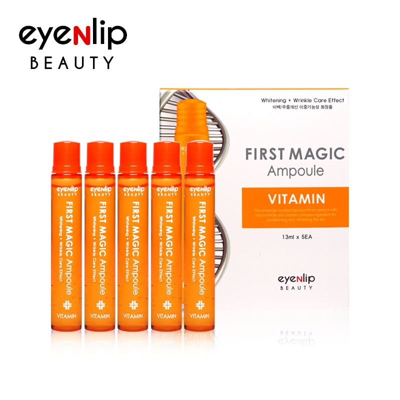 퍼스트 매직 비타민 앰플 13ml * 5pcs (1BOX) First Magic Ampoule #Vitamin 13ml * 5pcs (1BOX)