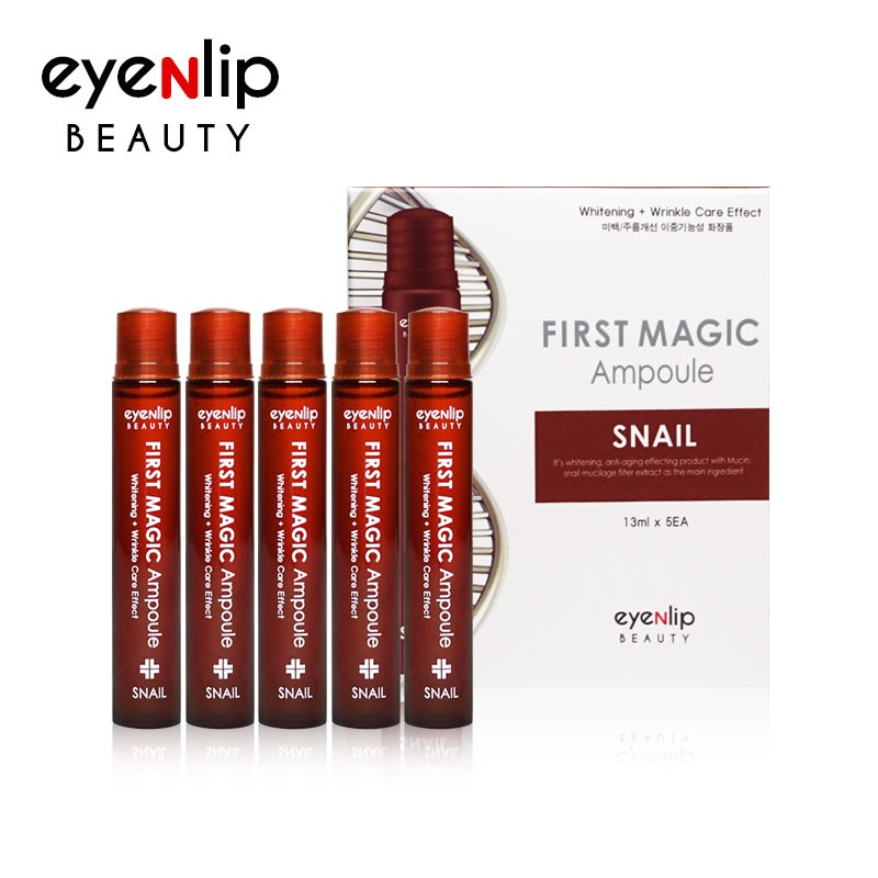 퍼스트 매직 스네일 앰플 13ml * 5pcs (1BOX) First Magic Ampoule #Snail 13ml * 5pcs (1BOX)