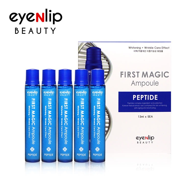 퍼스트 매직 펩타이드 앰플 13ml * 5pcs (1BOX) First Magic Ampoule #Peptide 13ml * 5pcs (1BOX)